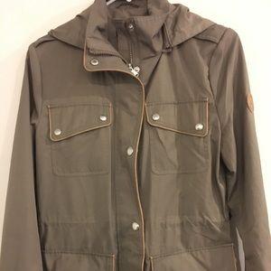 Women's XS Ralph Lauren Olive Green rain jacket